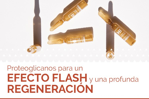 Ampollas de Proteoglicanos Doble Efecto Flash